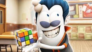 Funny Animated Cartoon | Spookiz | Rubik's Cube | 스푸키즈 | Kids Cartoons | Videos for Kids