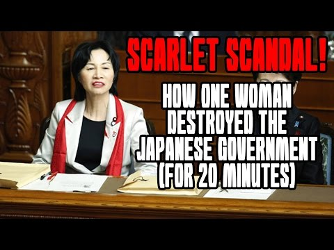 Scarlet Scandal: How One Woman DESTROYED the Japanese Government (for 20 minutes)