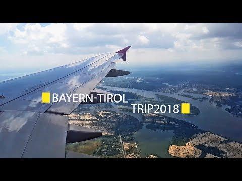 Bayern-Tirol trip 2018. Travel video