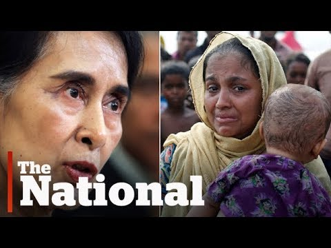 Muslim Rohingya flee Myanmar violence, Aung San Suu Kyi silent on attacks