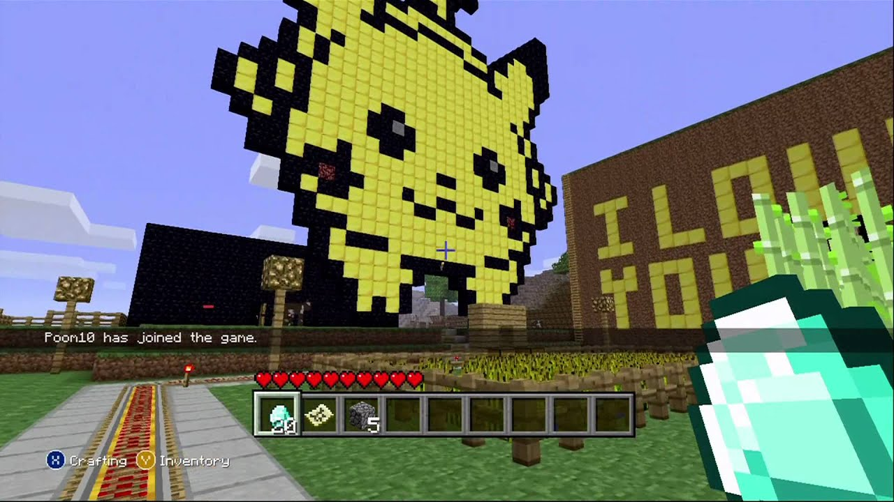 Minecraft Xbox 360 Edition COOL CREATIONS - YouTube