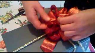 Come fare un fiocco regalo; How to make a bow .mp4