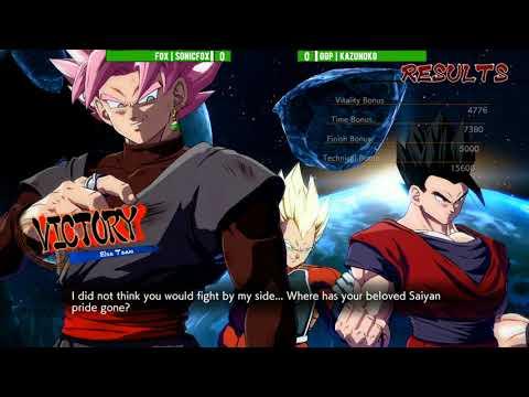 Final Round 2018: DBFZ: ECHO | SonicFox vs GGP | Kazunoko [Top 8]