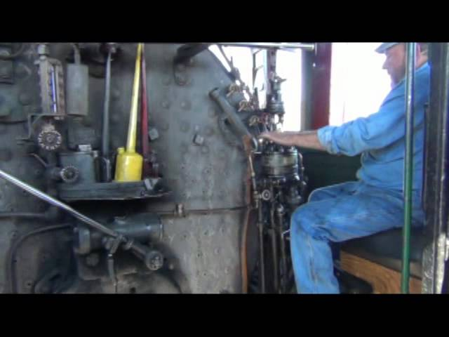 Take a ride in a real live steam train Travel Video