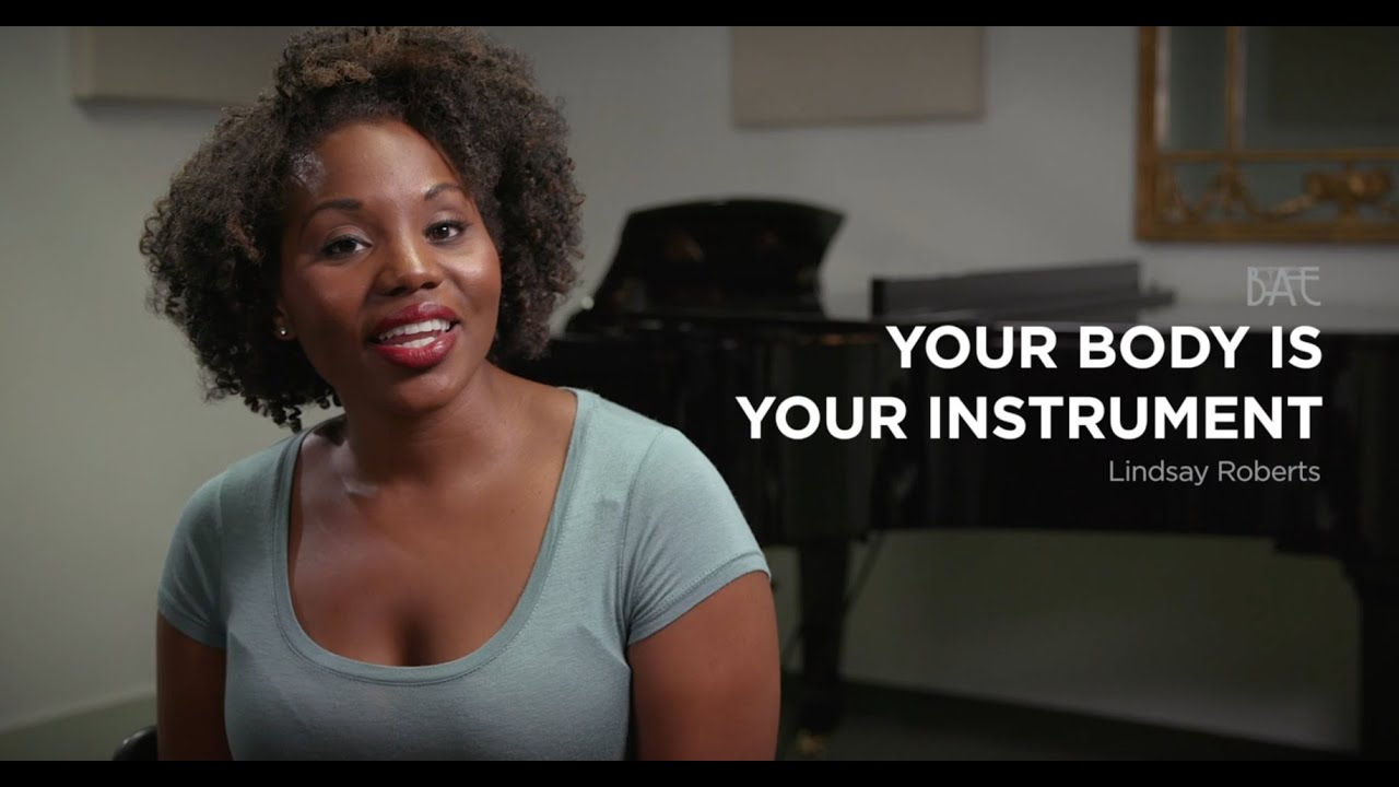 Your Body Is Your Instrument - Lindsay Roberts