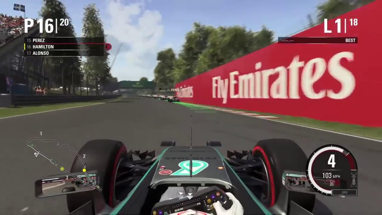 F1 2016 Canadian GP Full Race