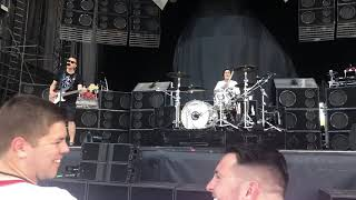 blink-182 Blame it on My Youth Soundcheck Bangor Maine July 13, 2019