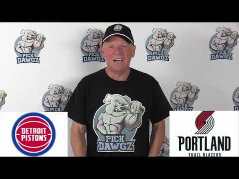 Portland Trail Blazers vs Detroit Pistons 2/23/20 Free NBA Pick and Prediction NBA Betting Tips