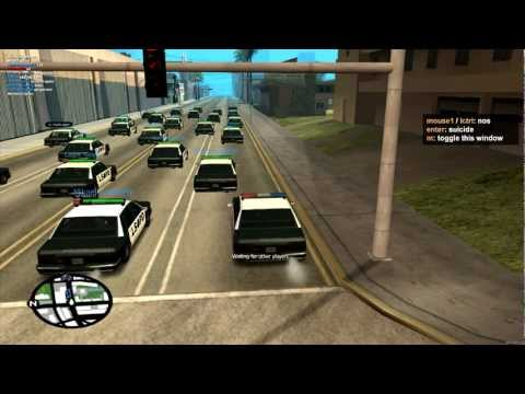 MTA San Andreas - 25th August 2012 - ORF Event - Various Game Modes & Bloopers!