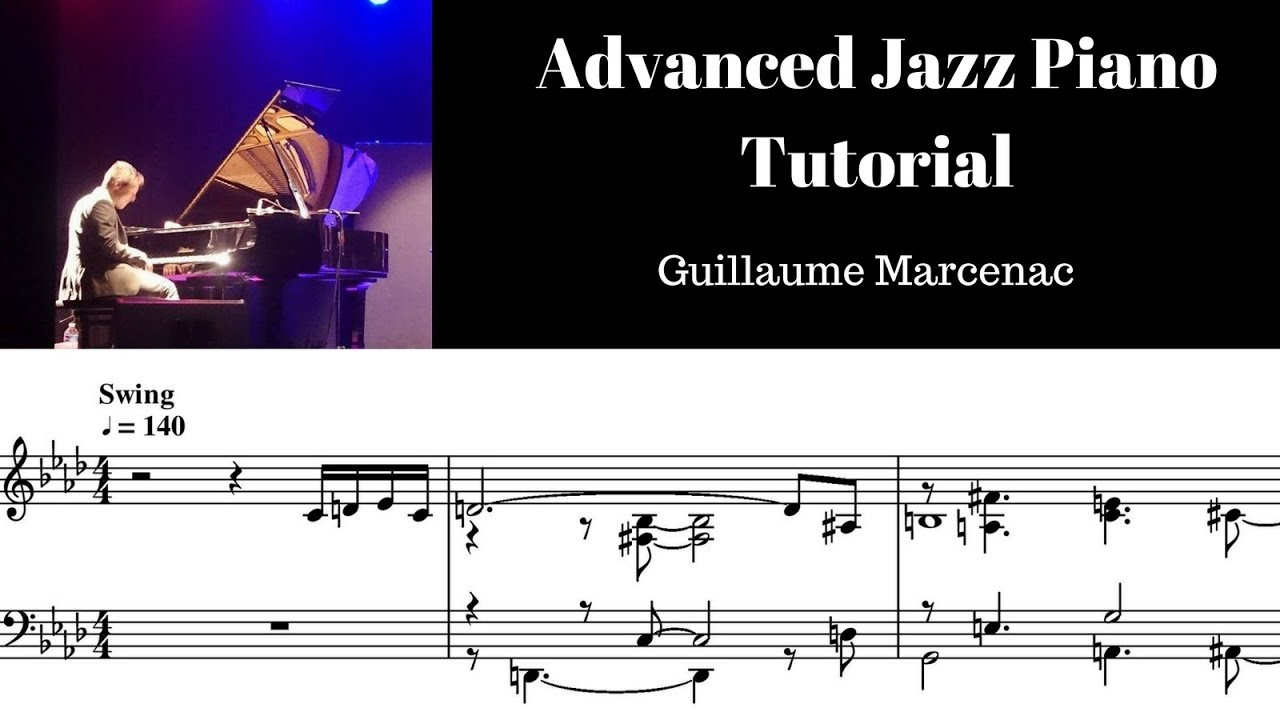 Advanced jazz piano tutorial 2 Basic dynamics by Guillaume
