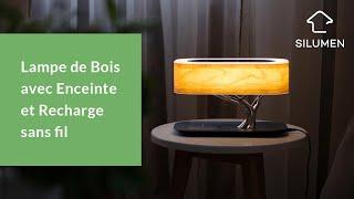 Video: copy of Lampe de Chevet Design 8W RGBW Dimmable