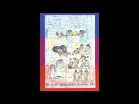 Bible Coloring Book For African American Children