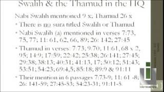 1. The Thamud & Prophet Saleh; Benefits of Istighfar and Tawbah - Shaikh Hasanayn Kassamali