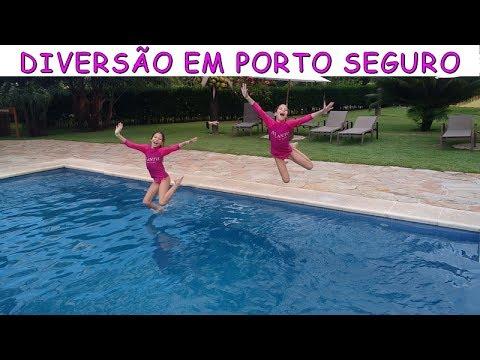 DIVERSÃO EM PORTO SEGURO - VIAGEM PARTE 1