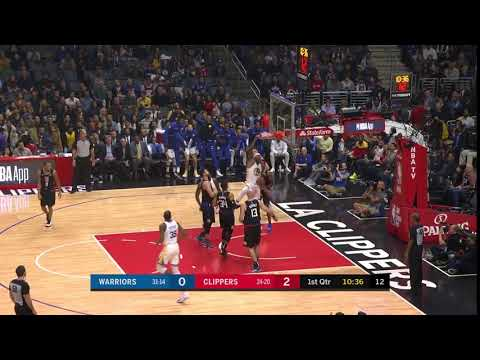1st Quarter, One Box Video: Los Angeles Clippers vs. Golden State Warriors