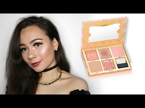 Benefit Blush Bar Cheek Palette | Review & Swatches