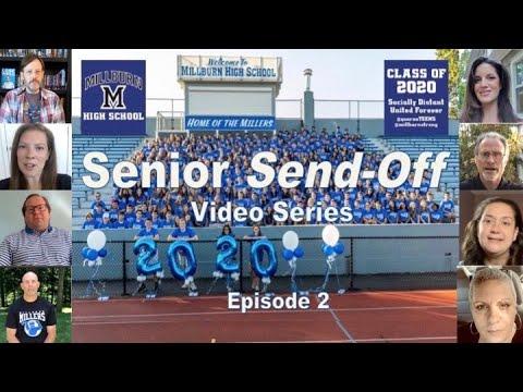 "Millburn High School Senior Send-Off - Episode 2 ""Don't Stop Believing"""