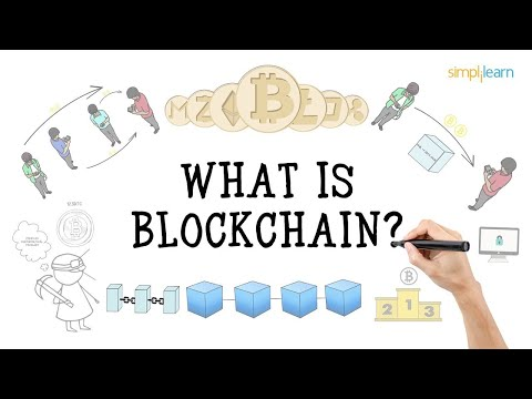 Blockchain In 7 Minutes | What Is Blockchain | Blockchain Explained|How Blockchain Works|Simplilearn