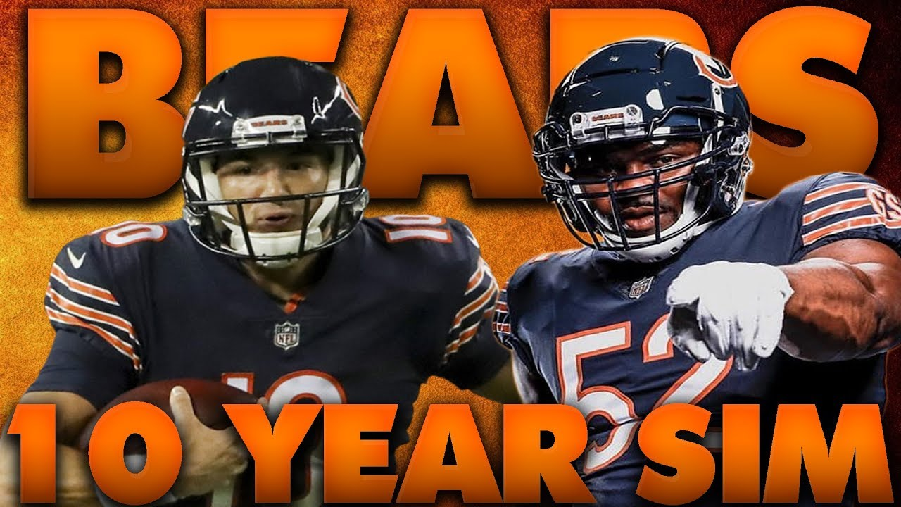 newest 69590 fca6b Khalil Mack Doesn't Age! Madden 19 Chicago Bears 10 Year Sim 2.0