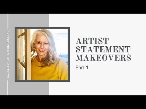 Artist Statement Makeovers