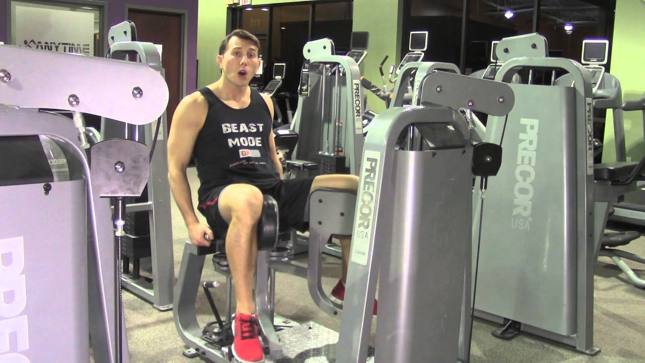 adductor exercises machine