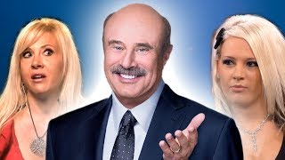 Dr. Phil Gets Hypnotized By Mother And Daughter Sugar Babies!!!