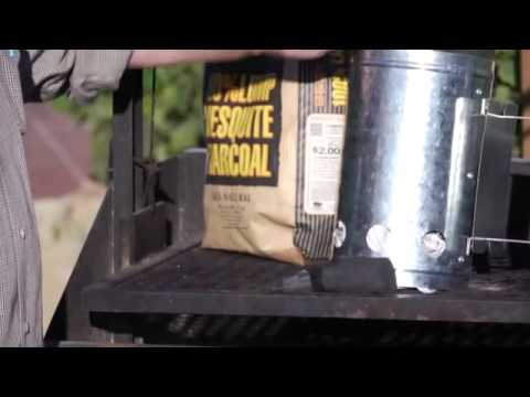 How To Light Lump Charcoal
