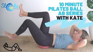 10 Minute Pilates Ball Ab Series | Stoke Physio