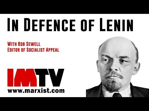 In Defence Of Lenin