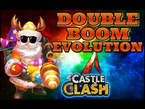 Castle Clash Santa Boom Double Evolution! BOOM!