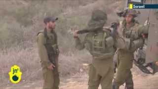 Israel Under Attack: Palestinian Gaza Strip militants fire rockets at southern Israeli town