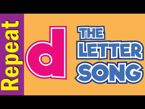 The Letter d Song - Listen & Repeat   Phonics Song   ESL for Kids   Fun Kids English