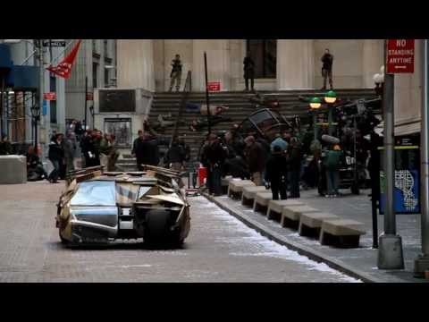 The Dark Knight Rises - Batmobile stunt Deleted Scene