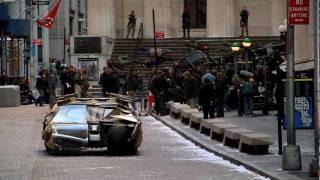 The Dark Knight Rises - Batmobile stunt Deleted Scene
