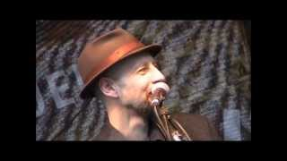 09.06.13 Outlaw Blues (Bob Dylan) - Reverend Schulzz & the Holy Service live @ Lamboyfest Hanau