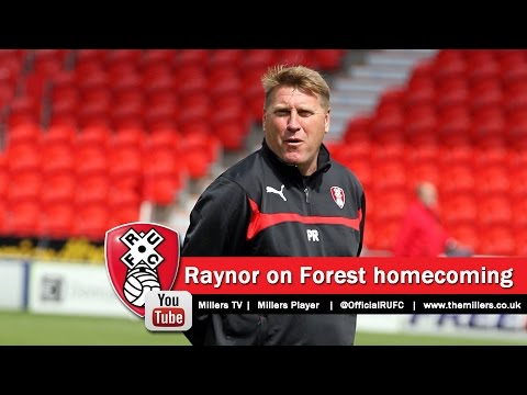 Paul Raynor talks about his Nottingham Forest homecoming