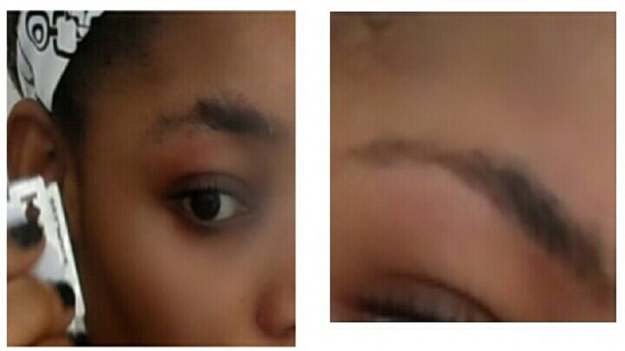 How To Carve Your Eyebrows With A Razor Blade How To Trim Your