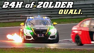 24h of Zolder 2017 qualifying (RXC, Mustang, M235i V8, 991 cup, Norma, ...)