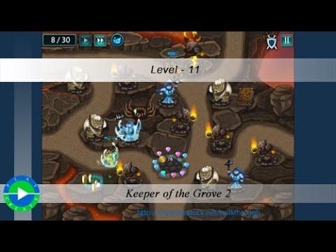 keeper of the grove 2 level 11 walkthrough youtube