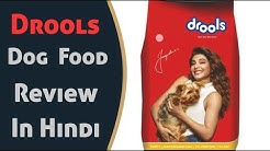 Drools dog food review in hindi