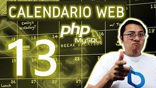Calendario web con PHP y MySQL utilizando fullcalendar (Video 13 - Obtener información de la GUI)