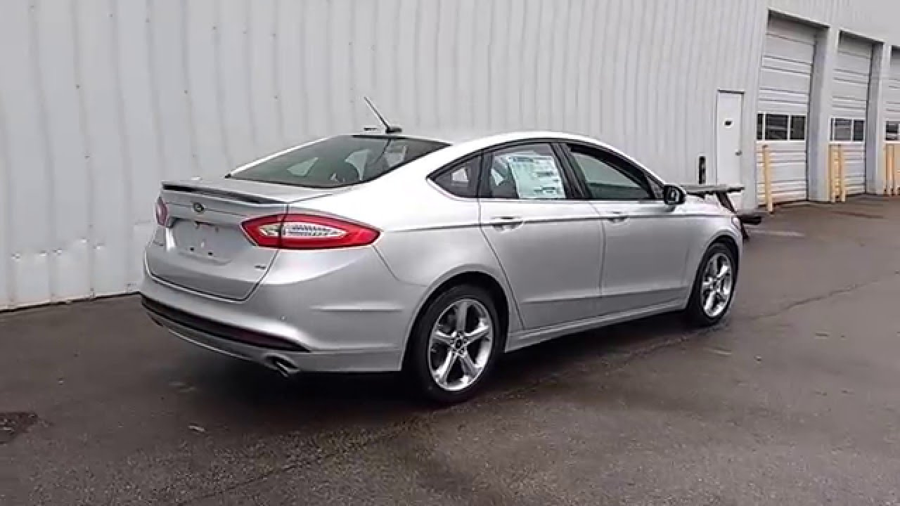 Ingot Silver 2016 Fusion Se 2 5l 201a Myford Touch Cold Weather Pkg Marshall Ford