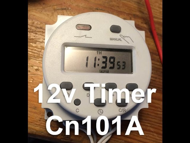 how to setup 12v dc timer with wiring diagram cn101a clipzui com rh clipzui com