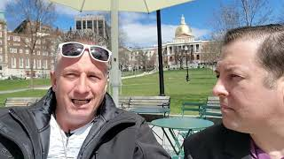 Surprised Boston Man learns about Yang2020.com