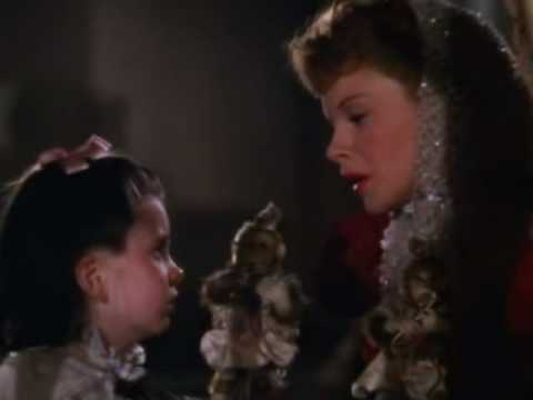 JUDY GARLAND: 'MEET ME IN ST LOUIS'. 'HAVE YOURSELF A MERRY LITTLE CHRISTMAS' WITH SNOWMAN CLIP.