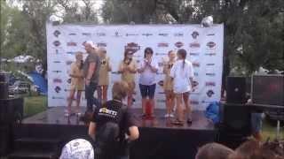 Футболки от Шаленой Майки на конкурсе мокрых маек на The Best City 2013.