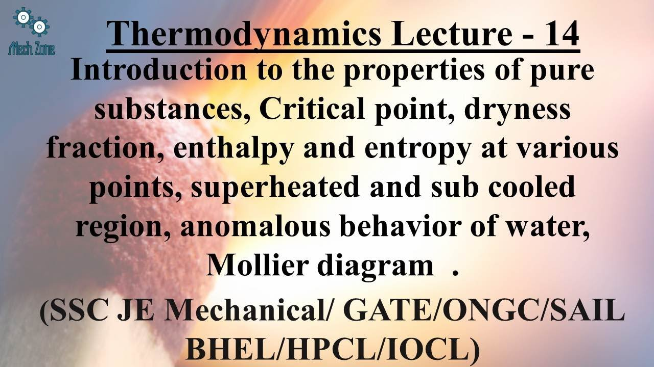 Thermodynamics last lecture 14 mollier diagram pure substance thermodynamics last lecture 14 mollier diagram pure substance critical point dryness fraction pooptronica Image collections