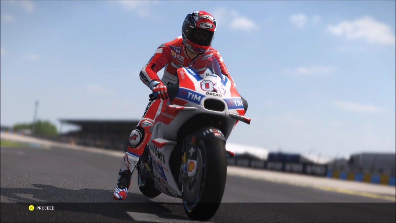 Ducati Desmosedici GP16 2016 - Valentino Rossi The Game - MotoGP 16 - Test Ride Gameplay (HD ...