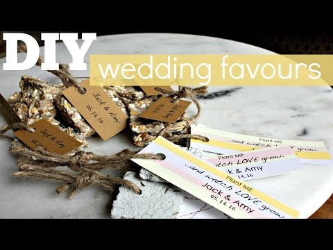 DIY - Wedding Favours | Seed Bombs