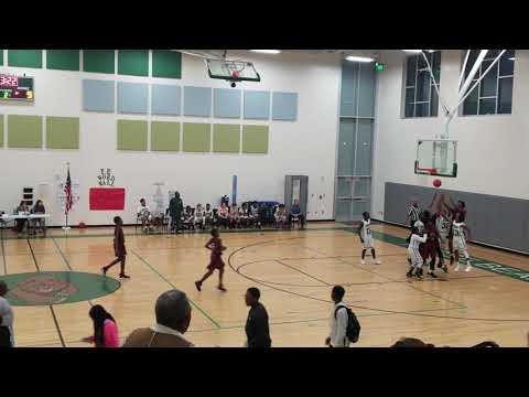 Hesse vs Hubert Middle school basketball 1-16-2019(5)